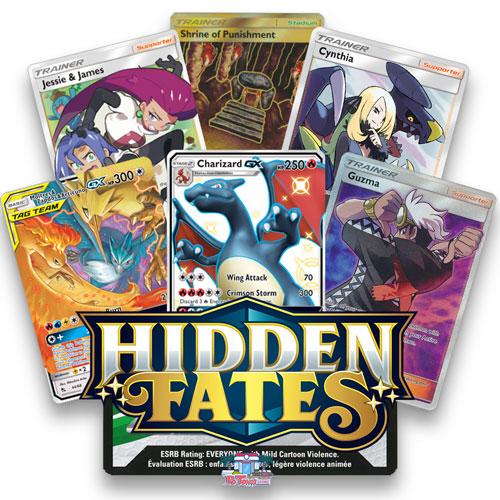 36 x Pokemon Hidden Fates PTCGO Online Game Booster Pack Codes SENT FAST