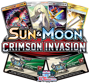 Pokemon TCG Online Codes For Sun And Moon Crimson Invasion Booster Pack - Automatic E-mail Delivery
