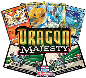 Pokemon TCG Online Codes For Dragon Majesty Booster Pack - Automatic E-mail Delivery