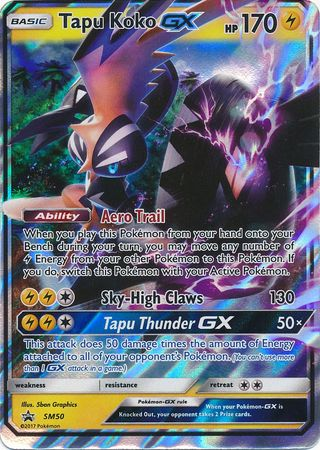 Pokemon TCG Online Codes For Shiny Tapu Koko GX Automatic E-mail Delivery