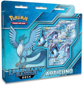Articuno EX - Legendary Battle Deck - Pokemon TCG Code