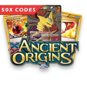 50x Ancient Origins - Bulk Pokemon TCG Codes Online