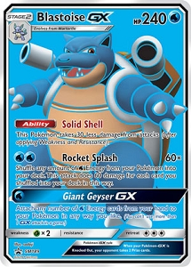 Pokemon TCG Online Codes For Blastoise-GX Promo
