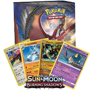 Burning Shadows Pre Release Promo Box - PTCGO Code