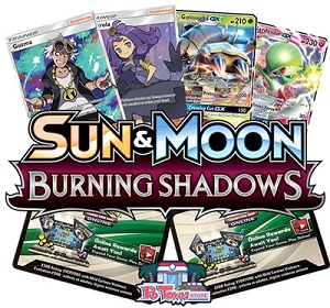 Burning Shadows - PTCGO Code