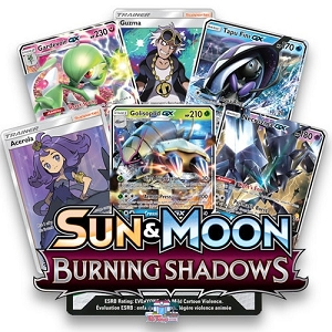 Burning Shadows - Pokemon TCG Codes