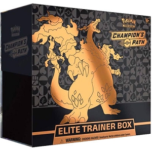 Champion's Path Elite Trainer Box - Pokemon TCG Code