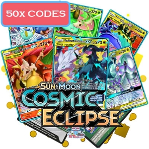 50x Cosmic Eclipse - PTCGO Codes