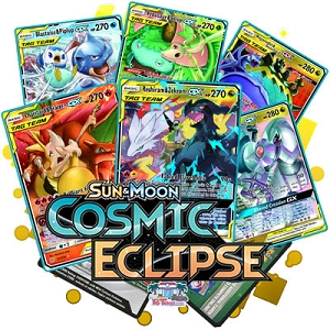 Pokemon TCG Online Codes For Sun And Moon Cosmic Eclipse Booster Pack