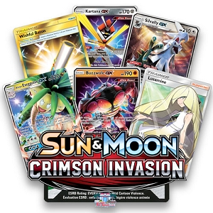 Crimson Invasion - Pokemon TCG Codes