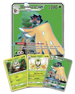Pokemon TCG Online Codes For Decidueye GX