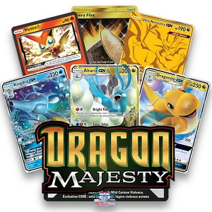 Dragon Majesty - Pokemon TCG Codes