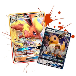 Pokemon TCG Online Flareon GX SM173 & Eevee GX SM176 Code - Automatic E-mail Delivery