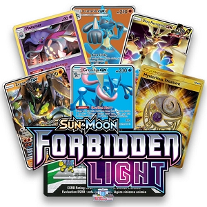 Forbidden Light - Pokemon TCG Codes