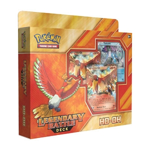 Ho-oh EX - Legendary Battle Deck - Pokemon TCG Code