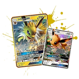 Pokemon TCG Online Jolteon GX SM173 & Eevee GX SM176 Code - Automatic E-mail Delivery