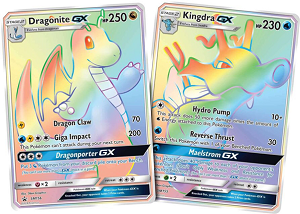 Kingdra-GX and Dragonite-GX - PTCGO Codes