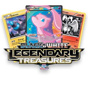 Legendary Treasures - Pokemon TCG Codes