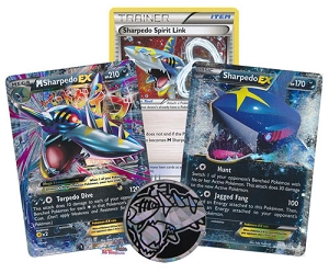 Mega Sharpedo-EX XY200 - Pokemon TCG Codes