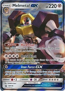 Pokemon TCG Online Codes For Melmetal GX SM178 & Meltan SM177 Promo