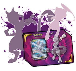Mew & Mewtwo Deck - 2 Copies of Mew Mewtwo GX Included - TCGO Code