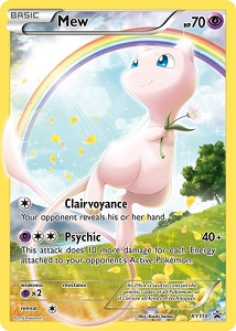 Generations Mew Card Sleeves Promo - PTCGO Code