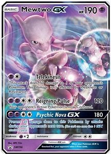 Pokemon Online Codes For Mewtwo GX SM196 Promo Automatic E-mail Delivery