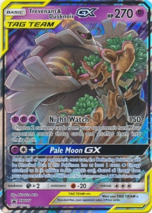 Pokemon TCG Online Codes For Trevenant & Dusknoir GX Automatic E-mail Delivery