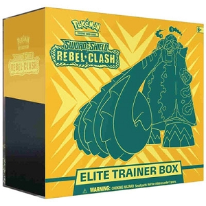 Rebel Clash Elite Trainer Box - Pokemon TCGO Codes Online