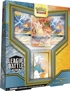 Reshiram & Charizard-GX League Battle Deck PTCGO Code