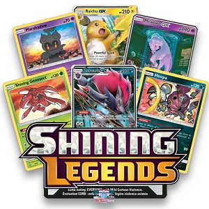 Shining Legends - Pokemon TCG Codes