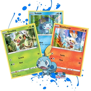 Sobble Blister Pack - PTCGO Code