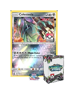 Celestial Storm Season 1 Rewards - PTCGO League Code