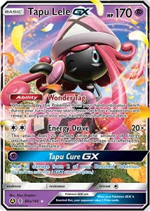 Tapu Lele GX & Tapu Fini GX - Island Guardians Collection PTCGO Promo Code