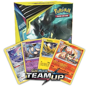 Team Up Pre Release Promo Box - PTCGO Code