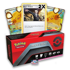 Trainers Toolkit - Dedenne GX - Boss Order - Pokemon TCGO Codes Online