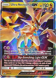 Pokemon TCG Online Codes For Ultra Necrozma GX