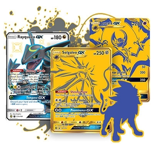 Pokemon TCG Online Codes For Hidden Fates Premium Powers Collection - Solgaleo GX