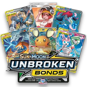 Unbroken Bonds - Pokemon TCG Codes