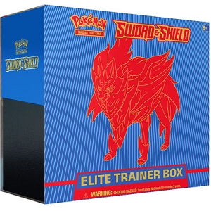Zamazenta Elite Trainer Box - Pokemon TCG Code