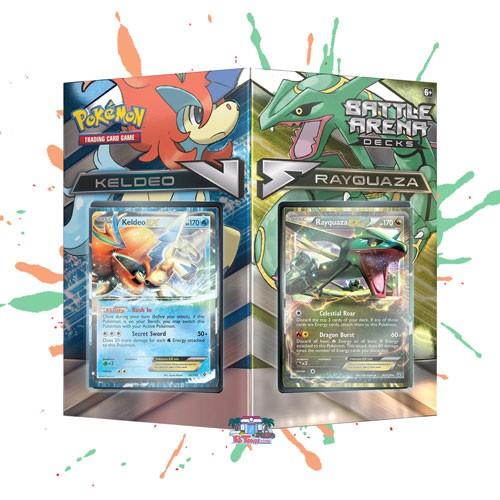 Pokemon TCG Online Codes For Battle Arena Deck - Keldeo VS Rayquaza