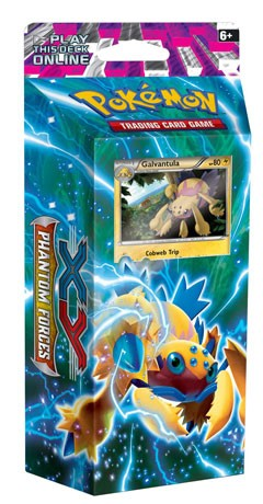 Bolt Twister Theme Deck - PTCGO Code