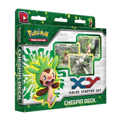 Chespin Theme Deck - PTCGO Codes