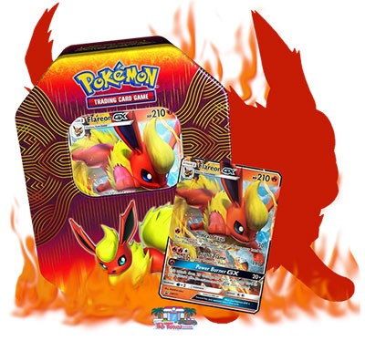 Pokemon TCG Online Codes Flareon GX Deck ( You Get 2 Flareon GX Cards + Other Pokemon / Trainer )