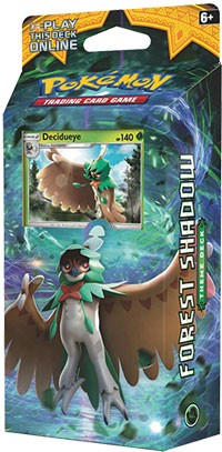 Forest Shadow Theme Deck - Pokemon TCG Codes