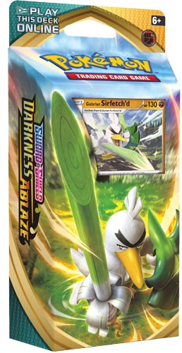 Galarian Sirfetch'd Theme Deck - Pokemon TCG Online Codes