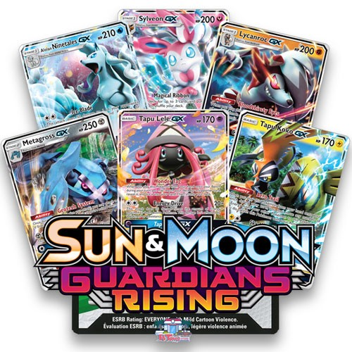 Guardians Rising - Pokemon TCG Codes
