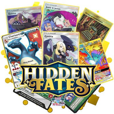 Pokemon TCG Online Codes For Hidden Fates Booster Pack