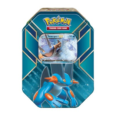 Swampert-EX Deck Hoenn Power Tin - PTCGO Code