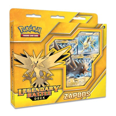 Zapdos EX - Legendary Battle Deck - Pokemon TCG Code
